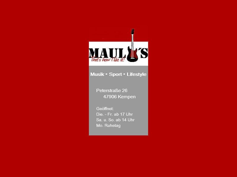 MAULIS - Kneipe | Bistro | Sky-Sportsbar